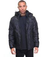 Removable hood sherpa lined hooded nylon heavyweight jacket  - $59.99