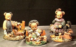 Berry Hill Bears AA-191984 Collectible Young ( 3 pieces )