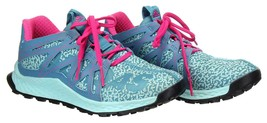 Adidas Women's Vigor Bounce Trail Running Athletic Trainers Pink and Blu... - $73.59