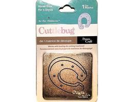 Provo Craft Cuttlebug Horse Shoe Die #37-1516