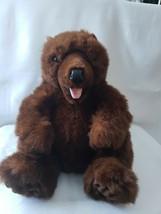 """Disney Parks Hidden Mickey Brown Bear Plush Puppet 16"""" - $12.87"""