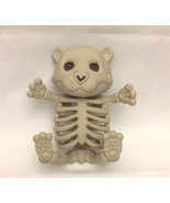 "Baby teddy bear skeleton Halloween decor cub figure 5"" tall decoration - $5.00"