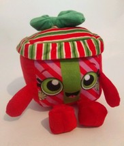 BEST MADE TOYS red green HOLIDAY CHRISTMAS PRESENT plush stuffed animal ... - $8.59