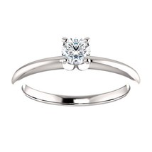 0.25 Carat H SI2 Ideal Cut Diamond Solitaire Ring - $299.00
