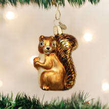 OLD WORLD CHRISTMAS SQUIRREL GLASS CHRISTMAS ORNAMENT 12080 - $11.88
