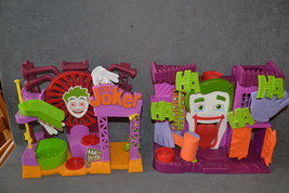 Fisher Price Imaginext DC Super Friends Joker Fun House + Laff Factory P... - $18.00