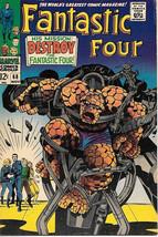 Fantastic Four Comic Book #68, Marvel Comics 1967 FINE+ - $38.62