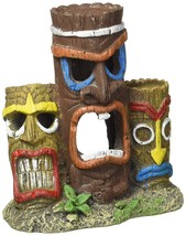 Blue Ribbon Pet Products Exotic Environments 3 Piece Tiki Head Statue Aq... - ₨1,182.19 INR