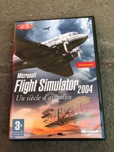 Microsoft Flight Simulator 2004 : Un Siècle D'aviation French Version Used - $4.94