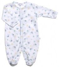 Le Top Turtle Time Preemie Baby Footie Sleeper & Matching Hat - $24.00
