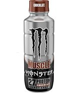 Monster Muscle Protein Energy Shake 12 - 15oz Bottles (Chocolate) - $48.99