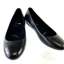 Rockport Women's Shoes Adiprene Ballet Flats Black Leather High Comfort ... - $55.09