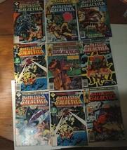 Battlestar galactica comic Book Lot of 9 - $29.40