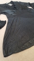 Sz M • MKM Designs Womens Black Blouse • new with damaged store tag • ni... - $8.86