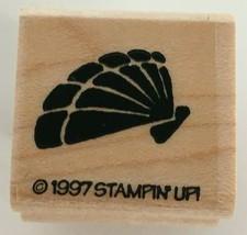 Stampin Up Fish Frolics Stamp Fan Shell Pinnidae Sea Ocean Beach Card Making Art - $4.00