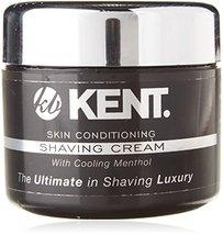 Kent Shaving Cream SCT2 Superior Men Smooth Cooling Menthol Shave Cream, No More image 2