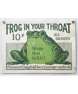 """Ande Rooney """"Frog In Your Throat"""" Sign NEW in wrapper-1986 - $28.04"""