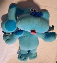 Blues Clues Talking Plush Doll Vintage Tyco 1997 Blue Stuffed Animal - $29.28