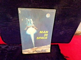 Vintage 1965 Science Service MAN IN SPACE paperback-Revised Edition- - $19.80