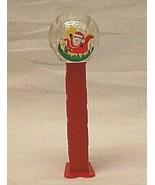PEZ Snow Globe Santa Claus Sleigh Christmas Candy Dispenser Footed Xmas ... - $8.90