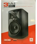 JBL - 308P MkII - 8-Inch 2-Way Powered Monitor Speaker - Matte Black - S... - $257.35