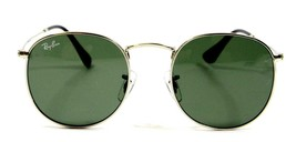 Ray Ban 3447 003 Classic John Lennon Silver Green Sunglasses 50mm New Au... - $80.14