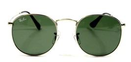 Ray Ban 3447 003 Classic John Lennon Silver Green Sunglasses 50mm New Authentic - $80.14
