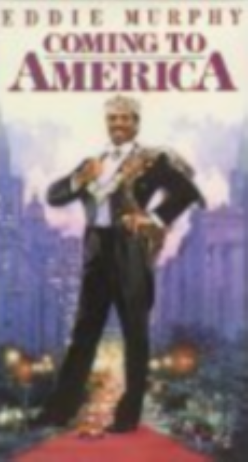 Coming to America Vhs