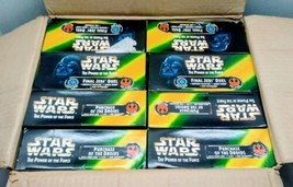 STAR WARS POWER OF THE FORCE FINAL JEDI DUEL ACTION FIGURE Master Box of 8 - $120.00