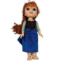 Frozen Disney Princess Anna Toddler Doll Dress Up Jakks Pacific Made in ... - $14.82