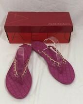 Aerosoles Womens Isabella Open Toe Casual, Pink, Size 11 - $27.23