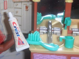Barbie Crest Toothpaste Brush Lot E fits Fisher Price Loving Family Doll... - $7.99
