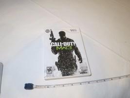 Call of Duty: Modern Warfare 3 (Nintendo Wii, 2011) video game Mature MW3  - $24.74