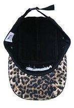 Another Enemy Unisex Wildlife Leopard Print 5 Panel Strapback Baseball Hat NWT image 6