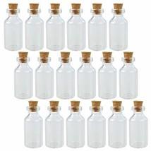 Wobe 30pcs 5ml Cork Jar Glass Bottles DIY Decoration Mini Glass Bottles ... - $14.06