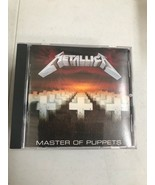 Metallica - Master of Puppets - CD -1986 -CANADA - CLEAN -VERY GOOD Cond... - $11.83