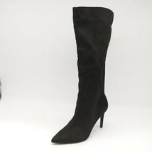 Steve Madden Womens Kinga High Heel Knee High Boots Black Pull On Sz 8.5... - $32.64