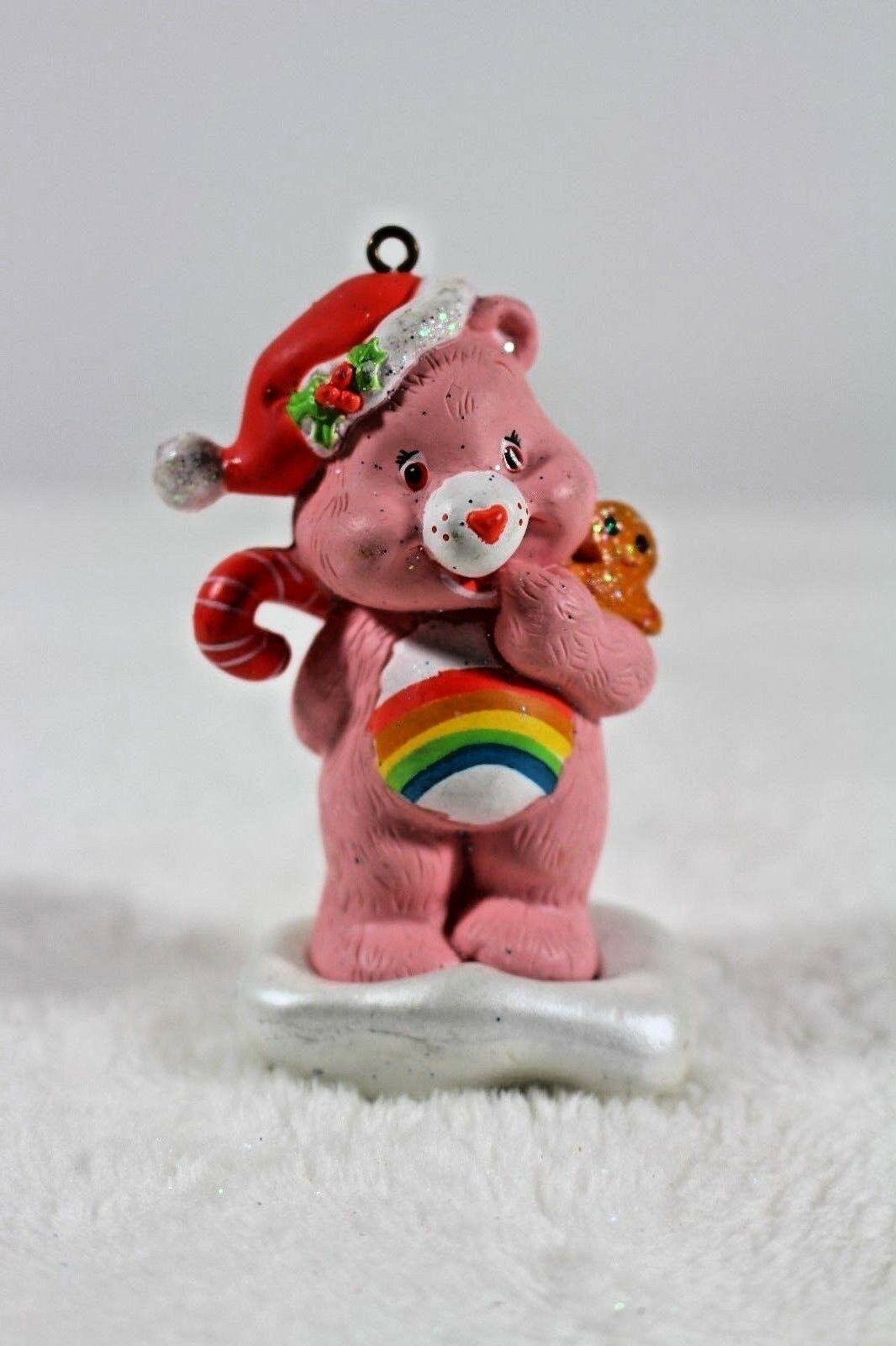 Cheer Bear Christmas Ornament American Greetings 2005 Care Bears Rainbow Holiday
