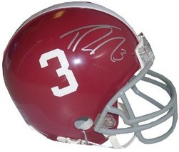 Trent Richardson signed Alabama Crimson Tide #3 Mini Helmet - $54.95