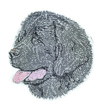 "Amazing Dog Faces[Newfoundland Black] Embroidery Iron On/Sew patch [4""x ... - €6,42 EUR"