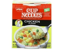 Nissin Cup Noodles Chicken Flavor Ramen Noodle Soup, 2.25 oz - $6.89