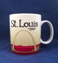 Starbucks St Louis 2012 Global Icon Collector Cup Mug Missouri The Gatew... - $49.49