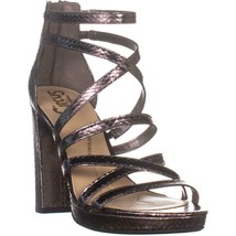Circus by Sam Edelman Adele Strappy Sandals, Pewter Snake Print, 8.5 US - €30,16 EUR