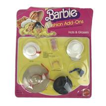 Vintage 1980 Mattel Barbie Doll Fashion Add-Ons Accessory Kit On Card Ha... - $32.68