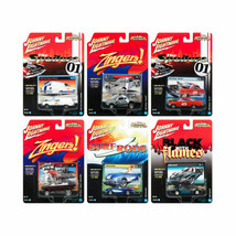 Johnny Lightning Street Freaks 2017 Release 1D Set of 6 cars 1/64 Diecast - $56.42
