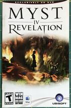 Myst IV: Revelation Manual - $6.44