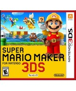 Super Mario Maker (Nintendo 3DS, 2016) - $38.00