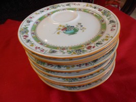 Beautiful 11 Saucers / Plates by ROYAL DOULTON (Cup placed on side)..Pat... - $49.09