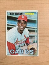 1967 Bob Gibson Topps Baseball Card #210 (Original) - $19.80