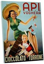 "Pingo World 0616QPNJM3M ""Chocolate Torreon Vintage"" Advertising Poster Gallery W - $138.55"